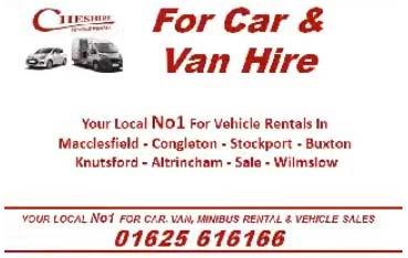 Cheshire Vehicle Rentals Video